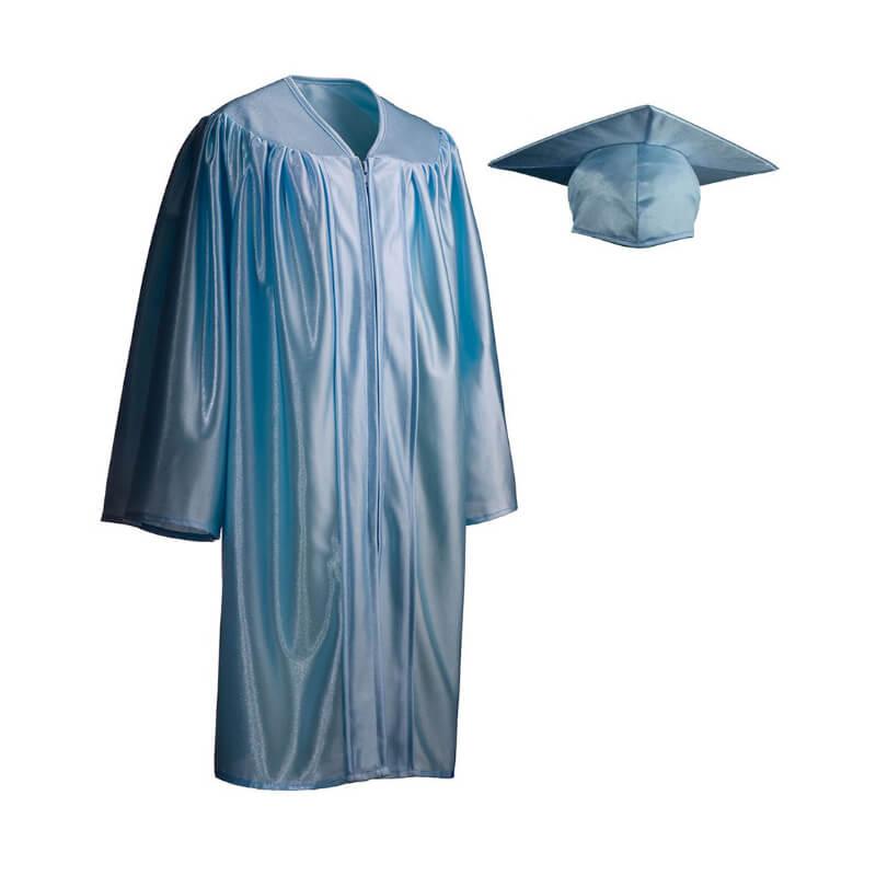 Child Cap Gown Sky Blue Xs Grads4good